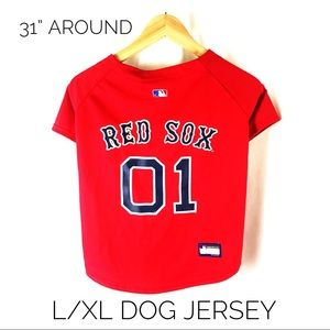 Other - Boston Red Sox Dog Jersey Shirt Large or XL Team